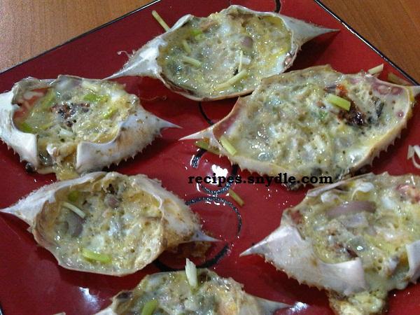Crab Omelette Recipe