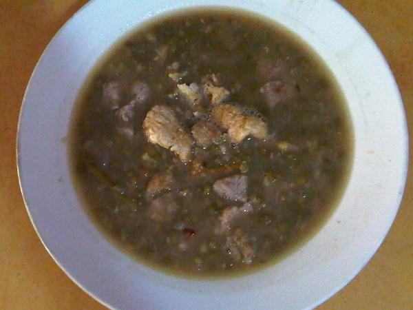 Ginisang Munggo (Mung Bean Soup)