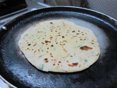 indian garlic naan recipe