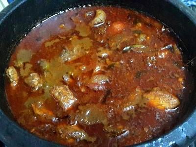Tuna Fish Theeyal  ( chura meen theeyal )