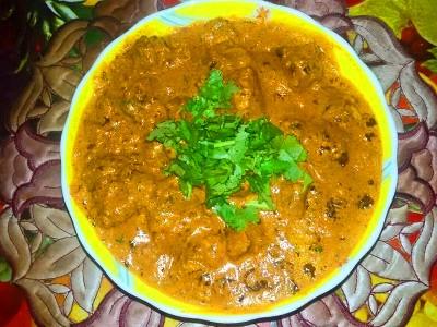 Butter Chicken Restaurant Style( Murgh Makhani )