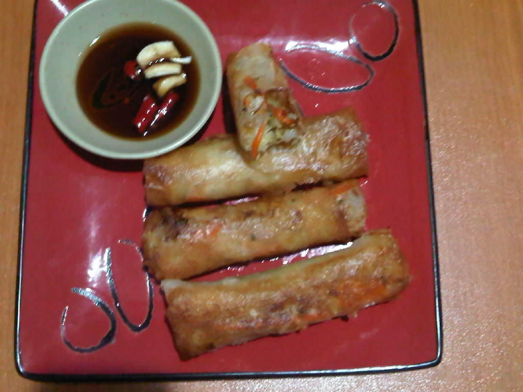 Vegetable Spring Rolls (Lumpiang Gulay)