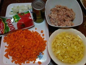 pork giniling recipe