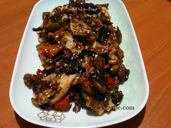 Stir Fry Vegetable In Oyster Sauce