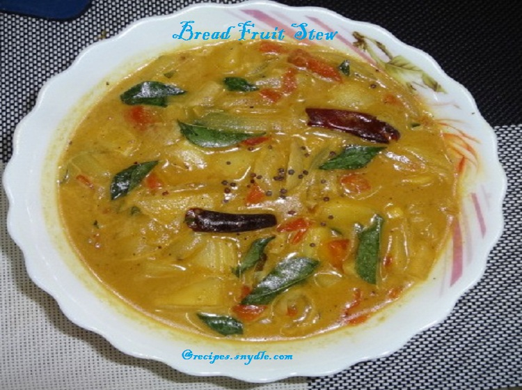 Bread Fruit Stew Recipe