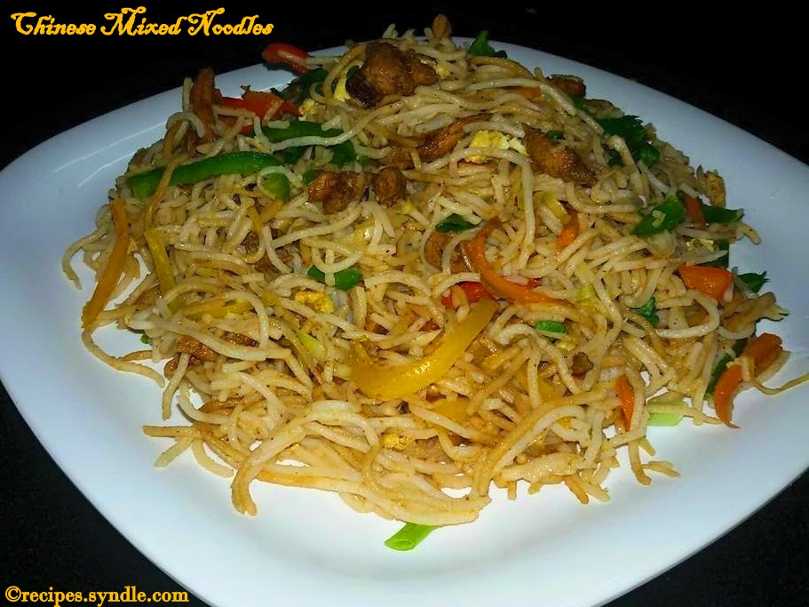 Chinese Mixed Noodles