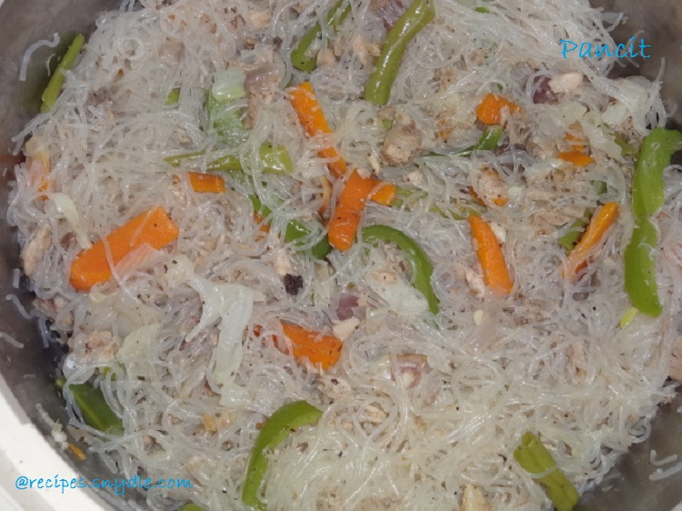 Pan cit(Chinese noodles)Recipe