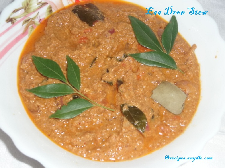 Egg Drop Masala Recipe