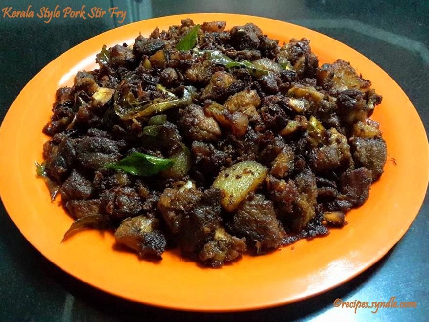 Kerala Stir Pork Fry