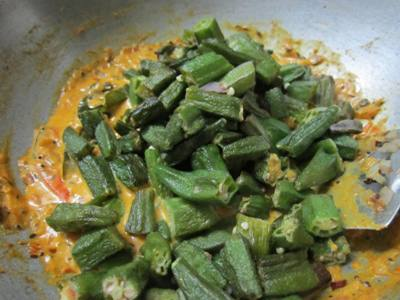 . Cover the skillet with a lid and turn the heat to low. Let the okra ...
