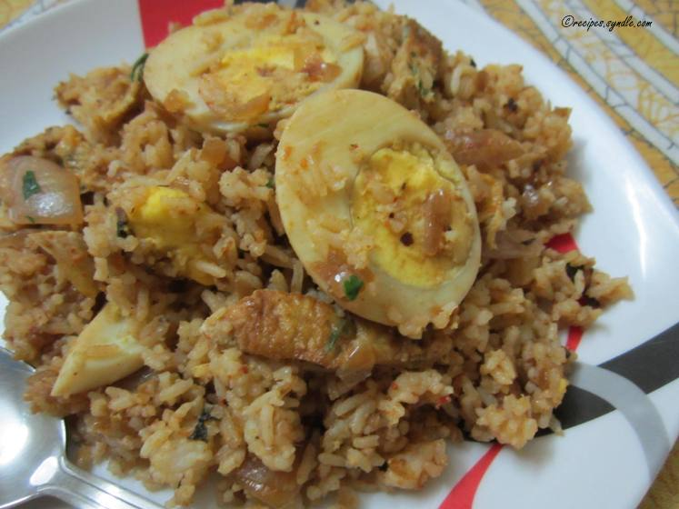 Double Egg Rice Recipe