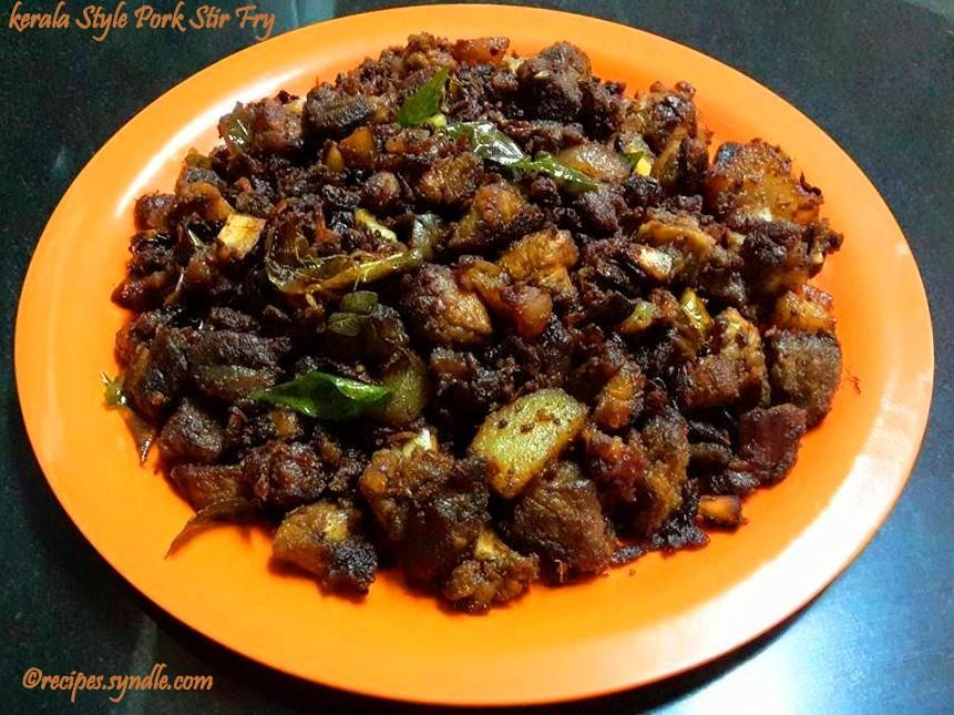 Kerala Pork Fry
