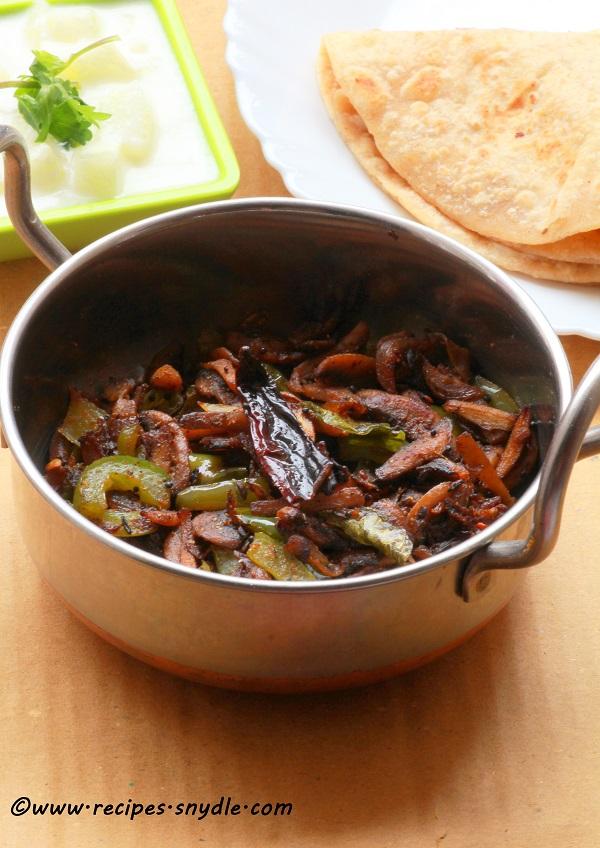 Mushroom pepper fry – Yummy Recipes