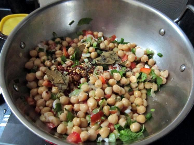 garbanzo salad
