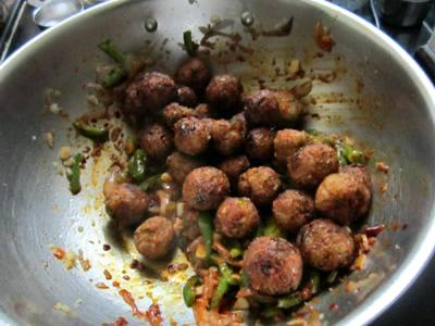 how to mkae veg manchurian