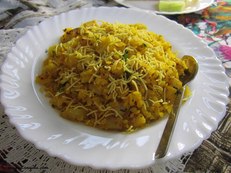 poha for breakfast
