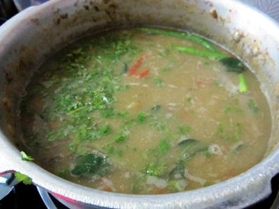 recipe of triple lentil stew