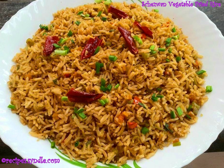 Schezwan Fried Rice - Indo Chinese Recipe