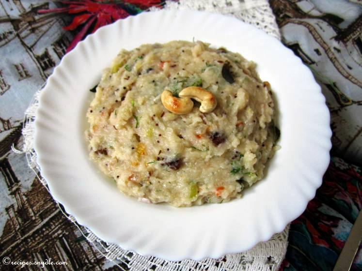 Upma Recipe With Step by Step Pictures