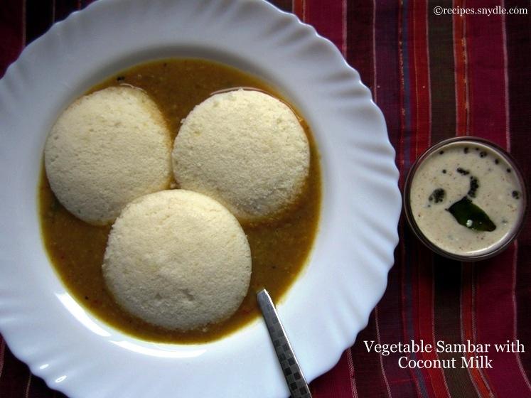 vegetable sambar recipe