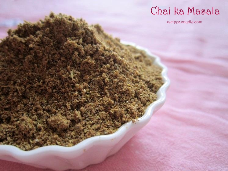 chai masala recipe