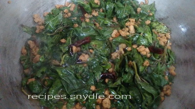 chech bhaji easy to cook