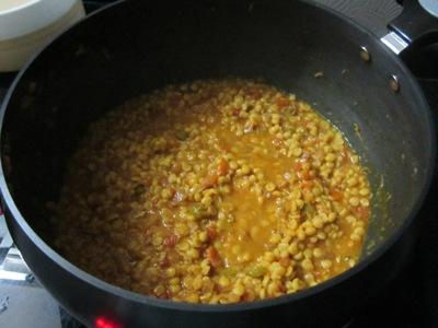 how to make chana dal