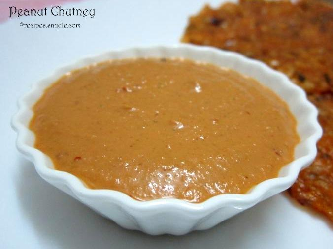how to make peanut chutney