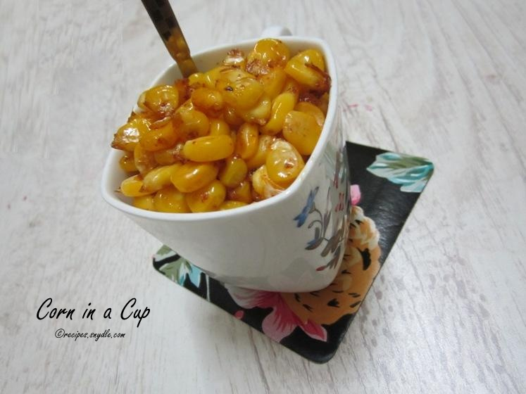 Corn in a Cup Recipe