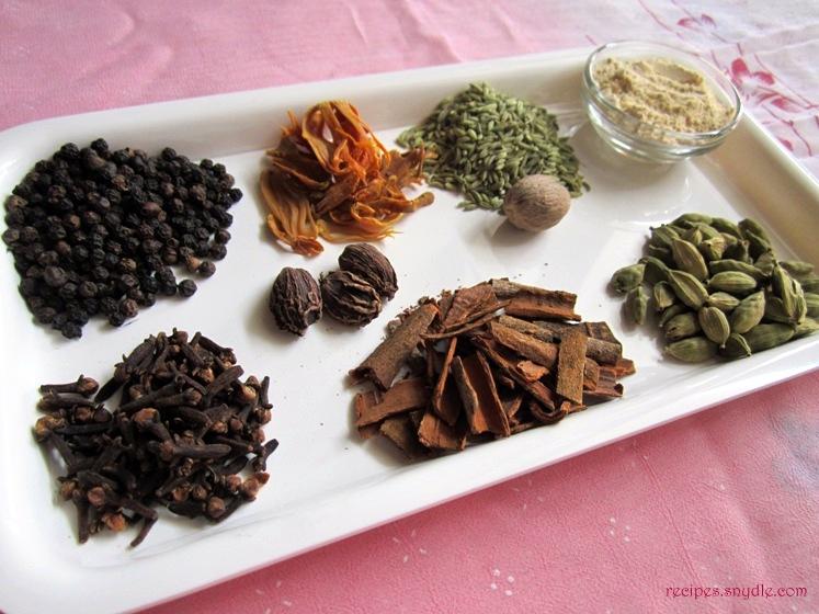 masala tea ingredients