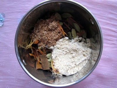 how to prepare tea masala powder