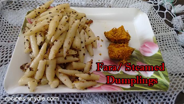 Fara Steamed Dumplings