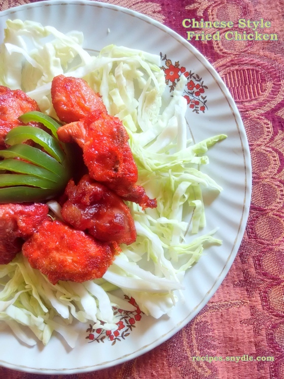 a simple fried chicken recipe