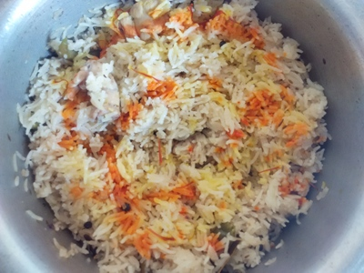 chicken pulao recipe english