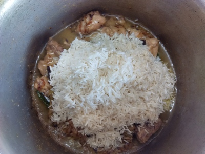 delicous chicken pulao