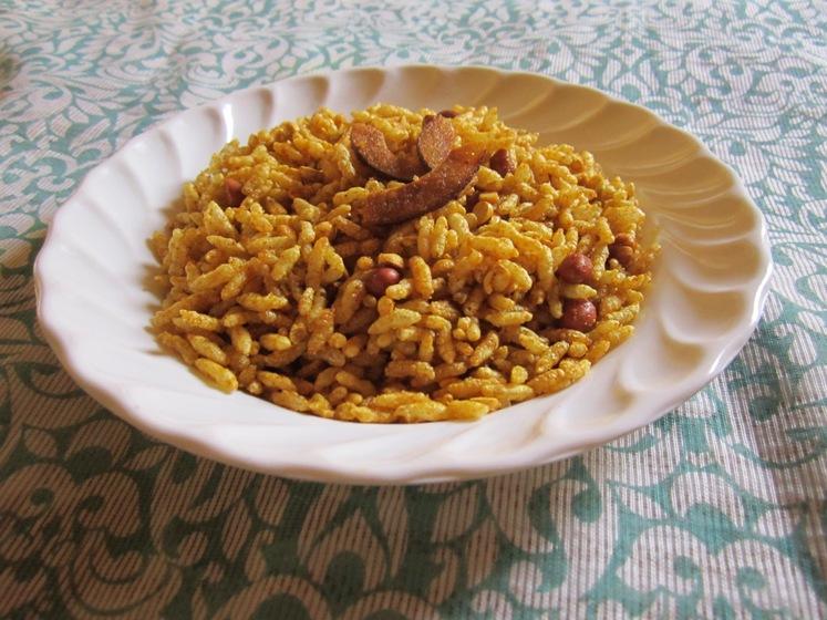 Puffed Rice Chivda/Bhajke Poha Chivda