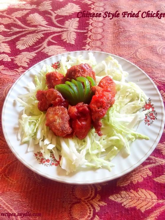 fried chicken recipe and procedure