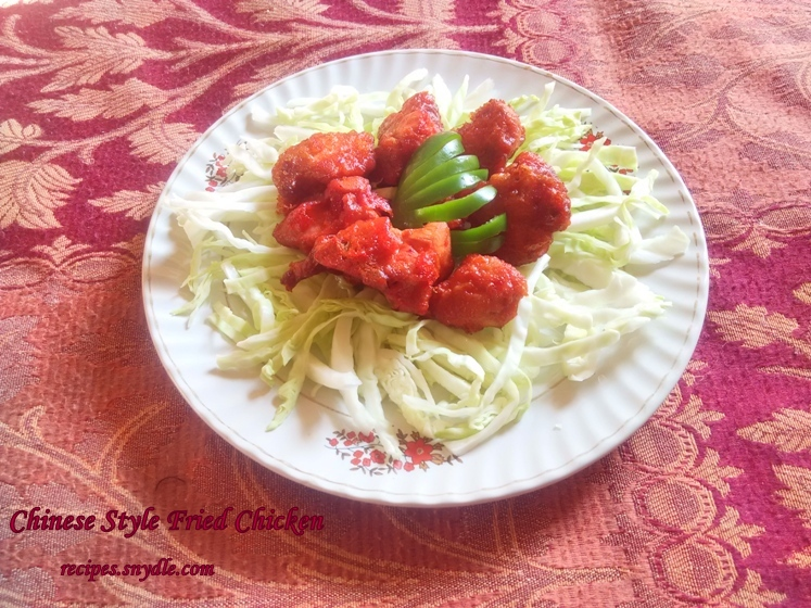fried chicken recipe at home