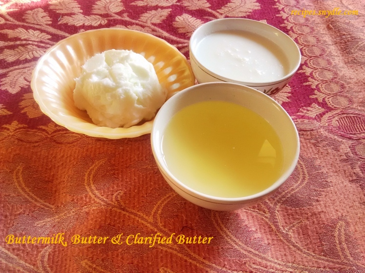 homemade buttermilk with yogurt