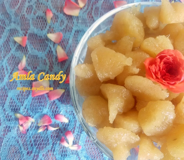Amla Candy Recipe.