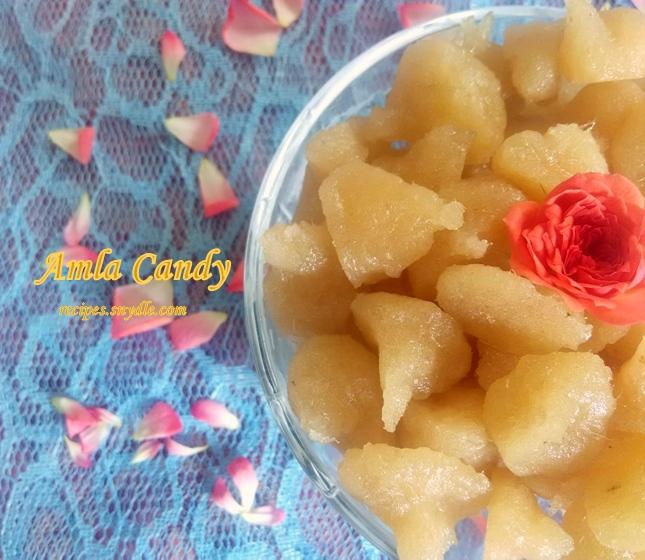 Amla Candy Recipe.
