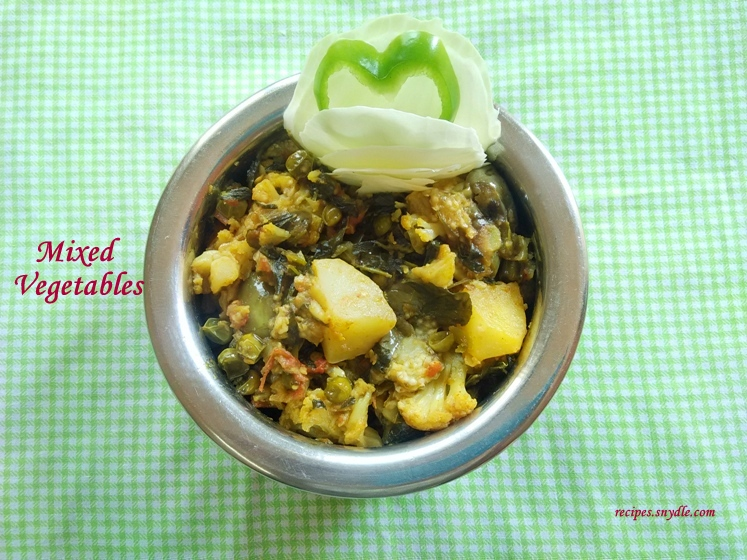 mixed vegetable curry recipe indian