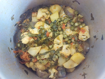 mixed vegetable recipe indian style