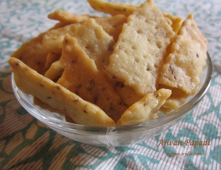 Ajwain Papdi Recipe/ Papdi for chaats Recipe.