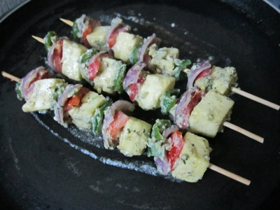 recipe of paneer malai tikka