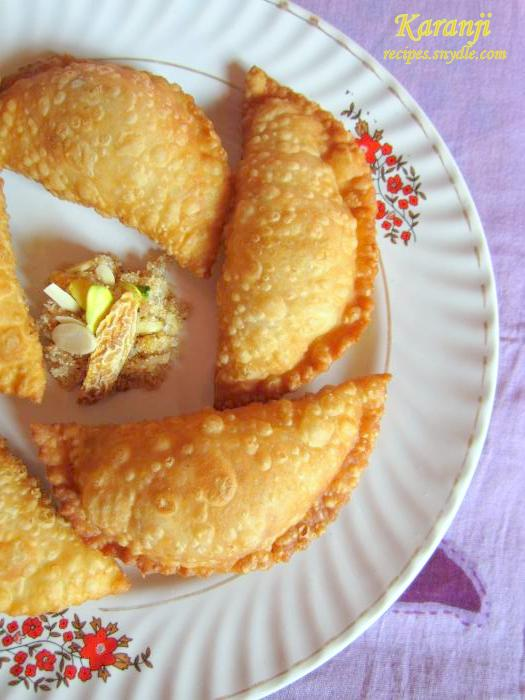 Karanji Recipe/Gujiya Recipe