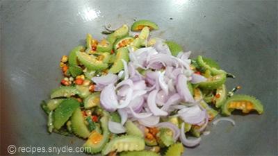 tasty kantola sabz with chana dal