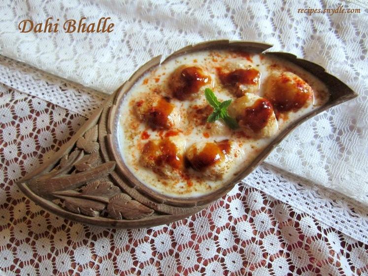 Dahi Bhalle Recipe/Dahi Vada Recipe.