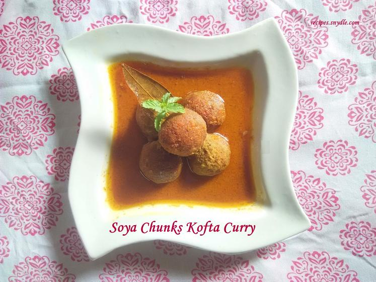 Easy veg kofta curry