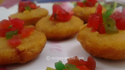 Eggless Mango Wheat Cake in Appam Maker recipe